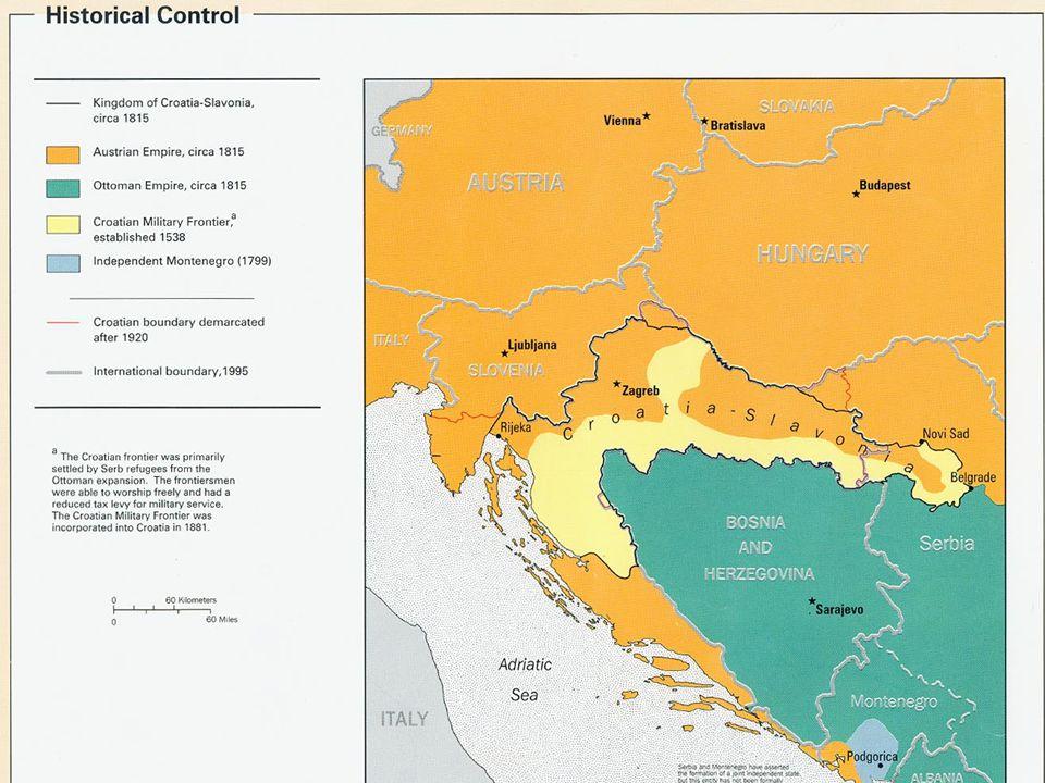 Chorvatské země v 19. století