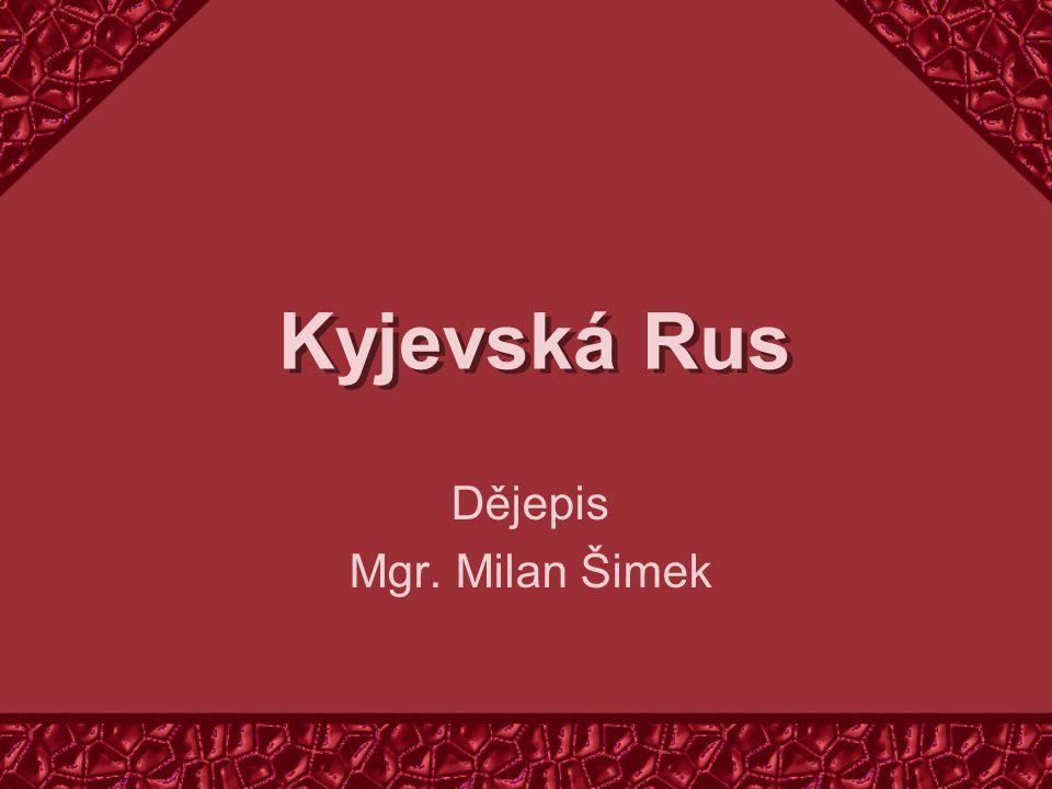 Dějepis Mgr. Milan Šimek