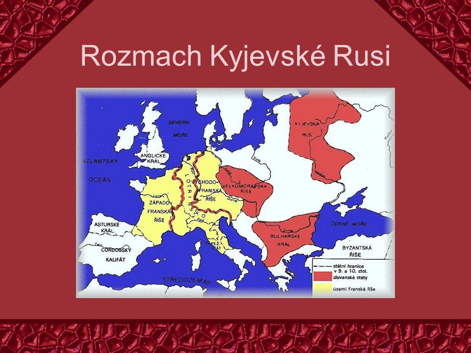 Rozmach Kyjevské Rusi