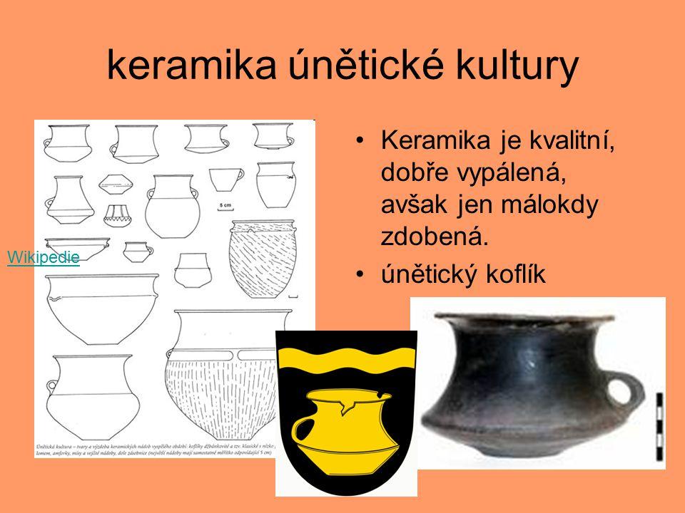 keramika únětické kultury