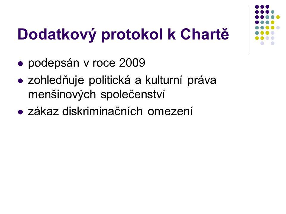 Dodatkový protokol k Chartě