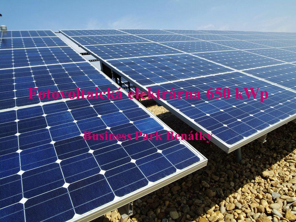 Fotovoltaická elektrárna 650 kWp