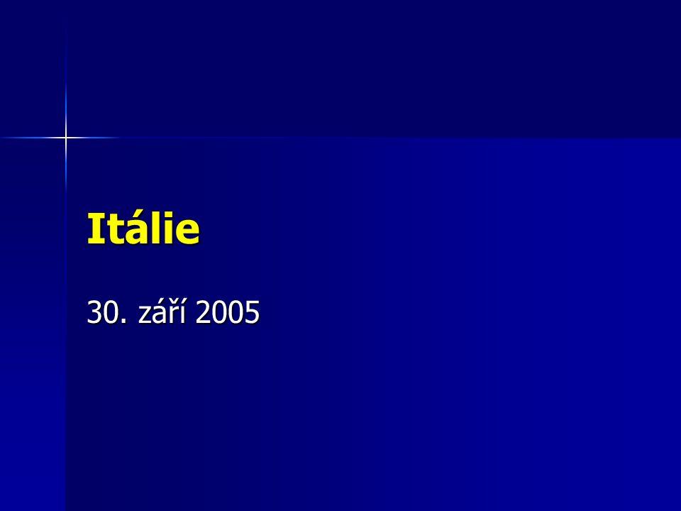 Itálie 30. září 2005