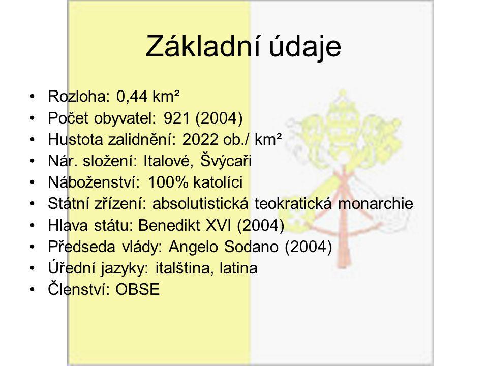 Základní údaje Rozloha: 0,44 km² Počet obyvatel: 921 (2004)