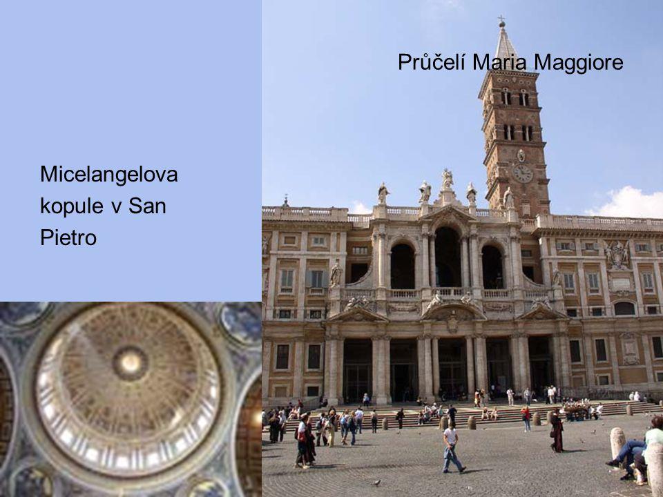 Průčelí Maria Maggiore