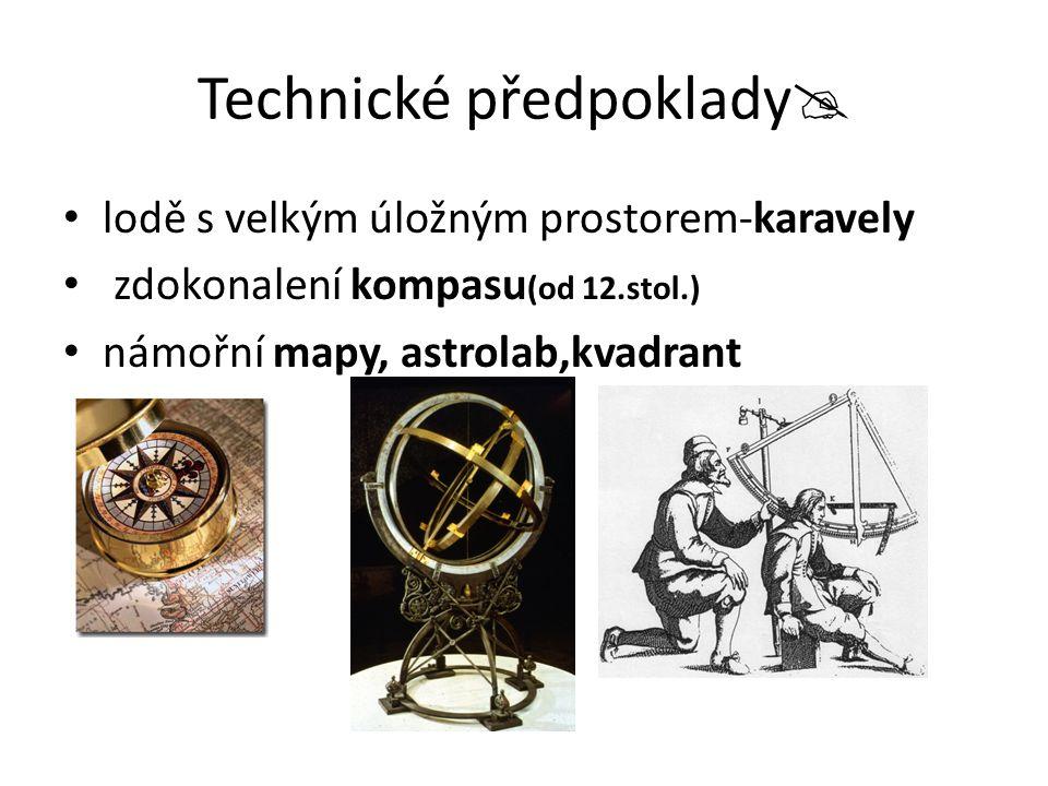 Technické předpoklady