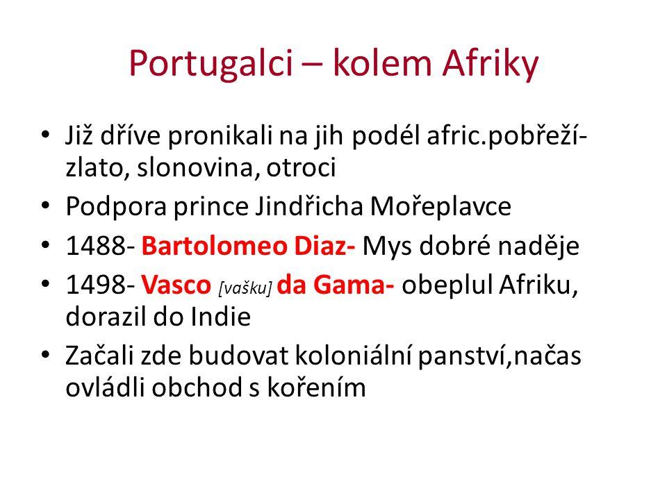 Portugalci – kolem Afriky