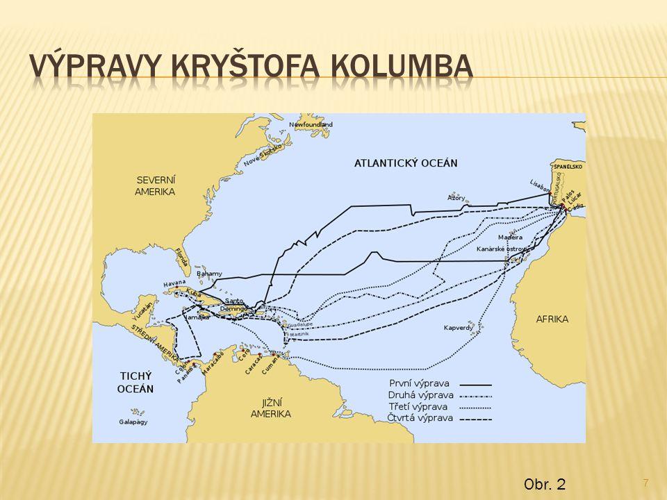 Výpravy kryštofa kolumba