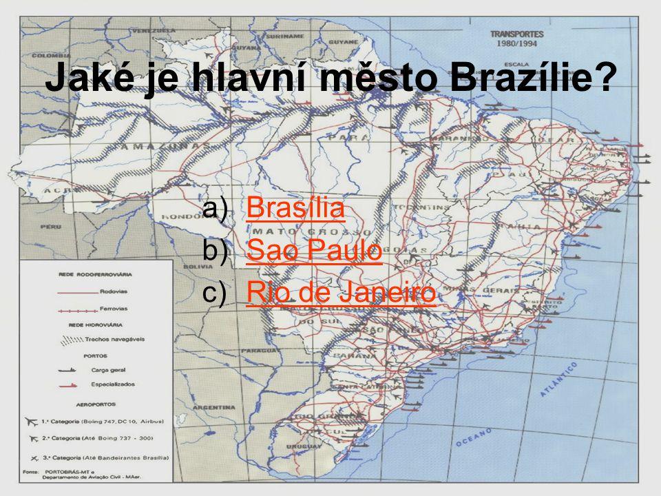 Jaké je hlavní město Brazílie