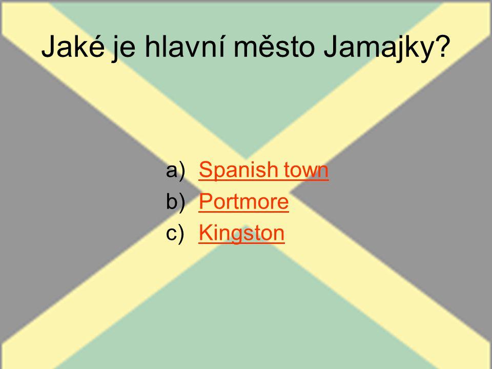 Jaké je hlavní město Jamajky