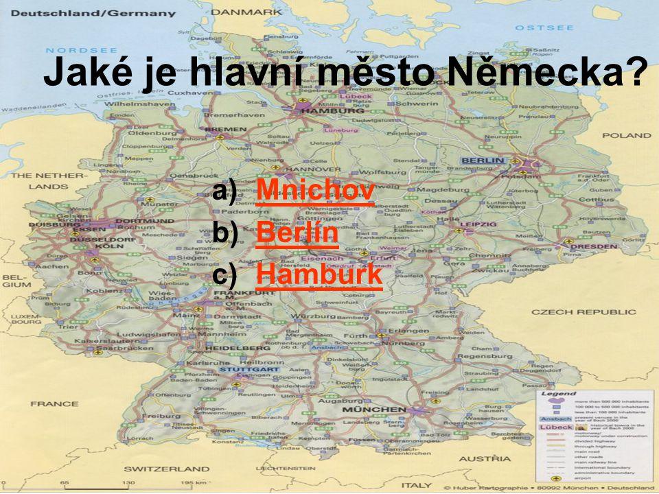 Jaké je hlavní město Německa