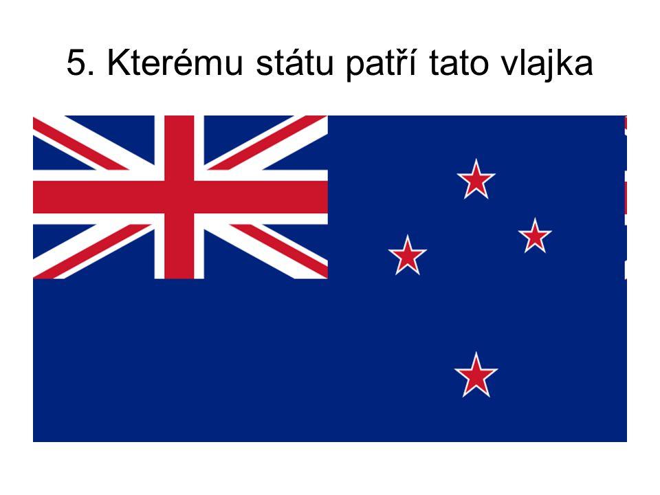 5. Kterému státu patří tato vlajka