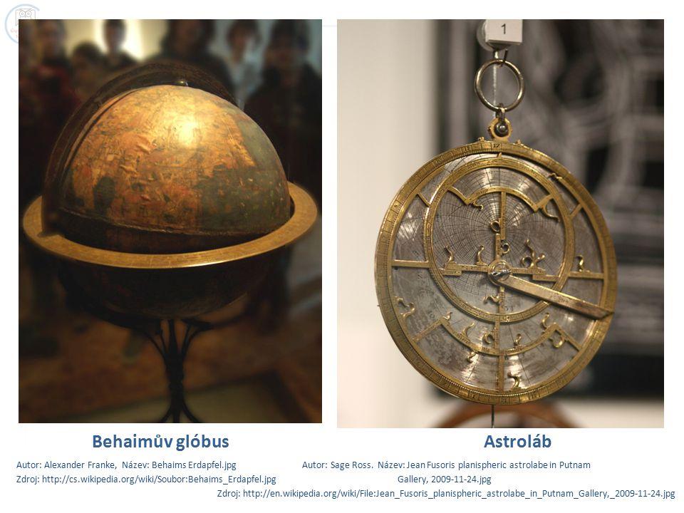 Behaimův glóbus Astroláb