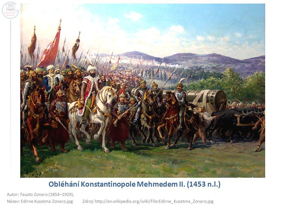 Obléhání Konstantinopole Mehmedem II. (1453 n.l.)