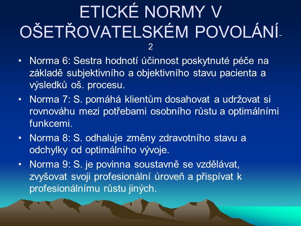 ETICKÉ NORMY V OŠETŘOVATELSKÉM POVOLÁNÍ-2