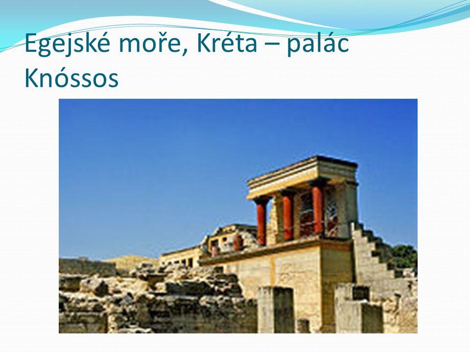 Egejské moře, Kréta – palác Knóssos