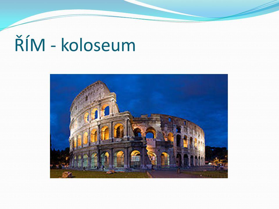 ŘÍM - koloseum
