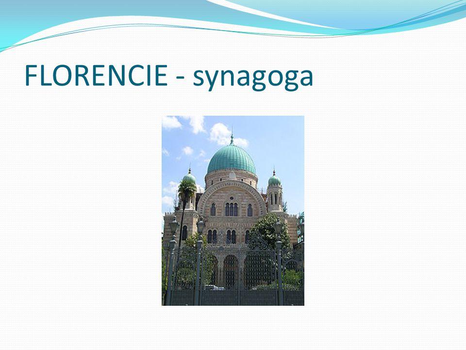 FLORENCIE - synagoga