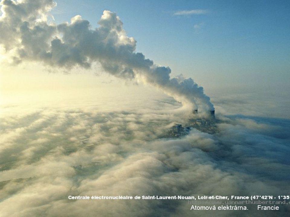 Atomová elektrárna. Francie