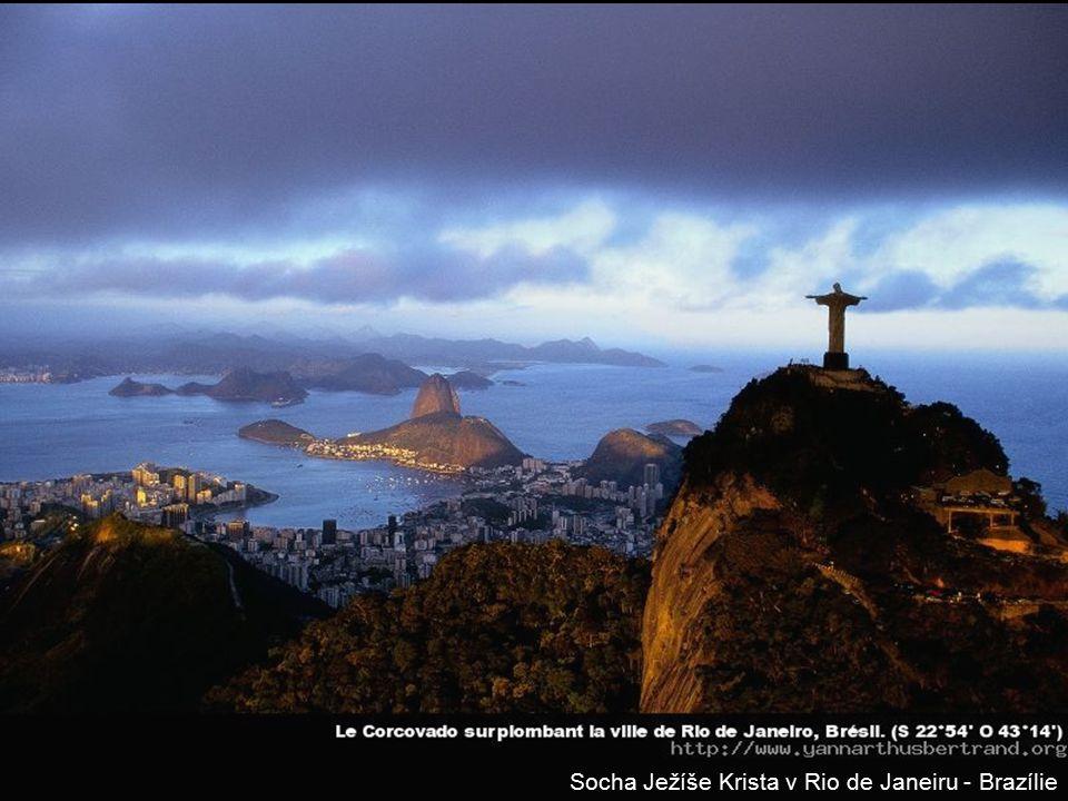 Socha Ježíše Krista v Rio de Janeiru - Brazílie
