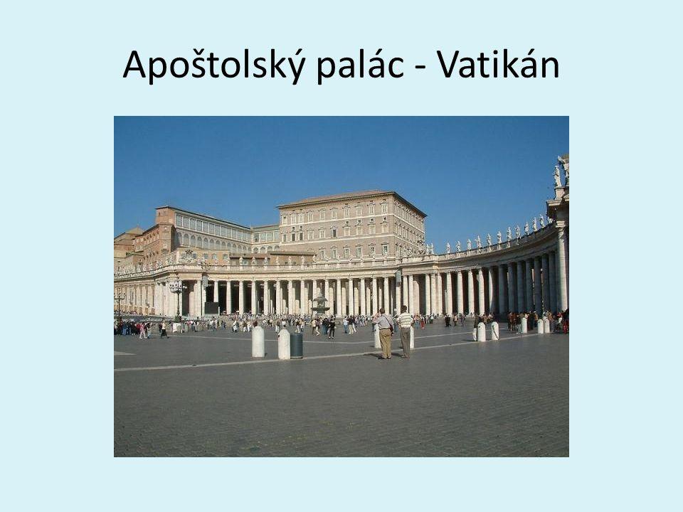 Apoštolský palác - Vatikán