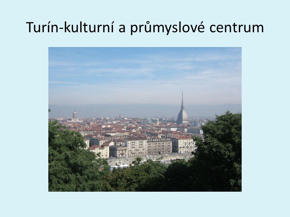 Turín-kulturní a průmyslové centrum