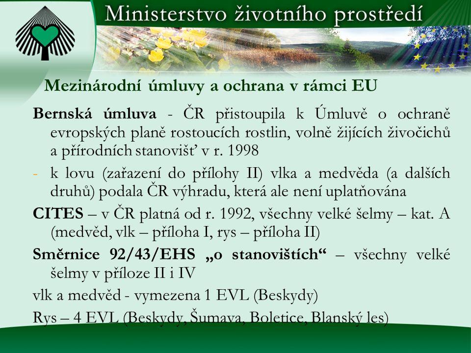 Mezinárodní úmluvy a ochrana v rámci EU