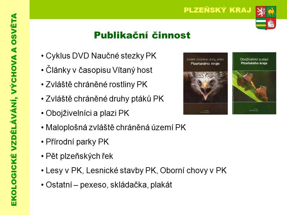 Publikační činnost Cyklus DVD Naučné stezky PK