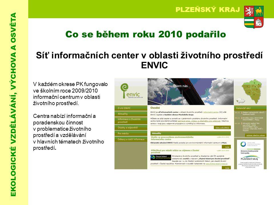 Síť informačních center v oblasti životního prostředí ENVIC