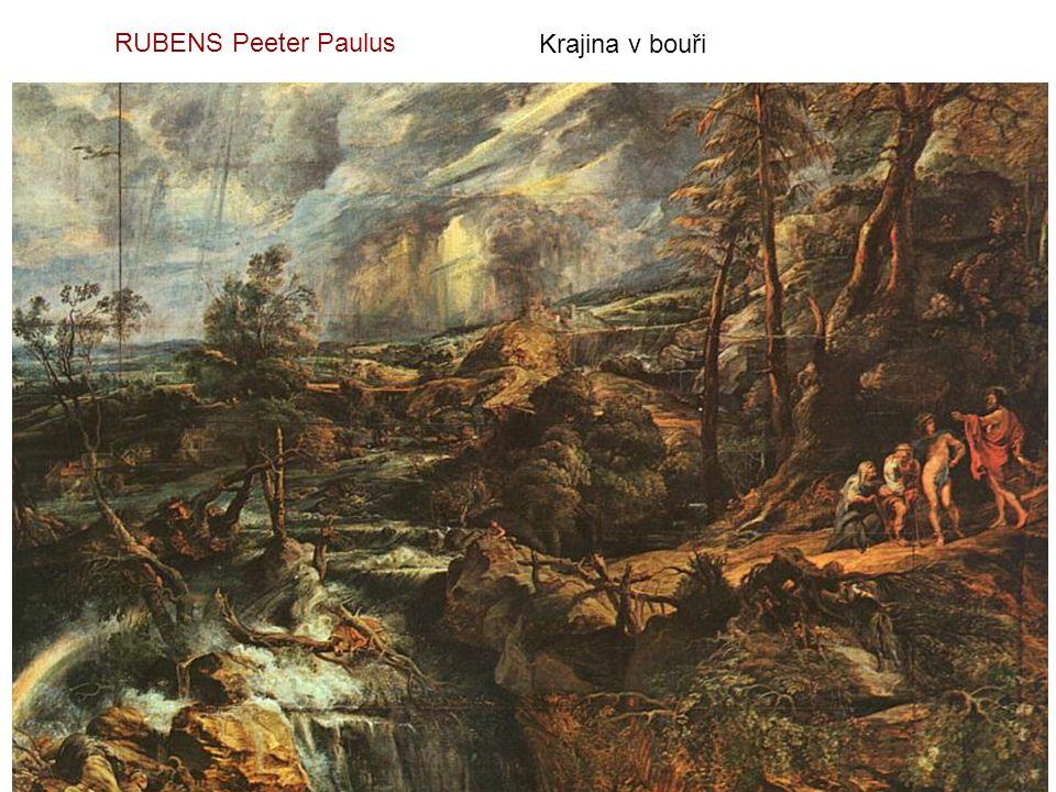 RUBENS Peeter Paulus Krajina v bouři