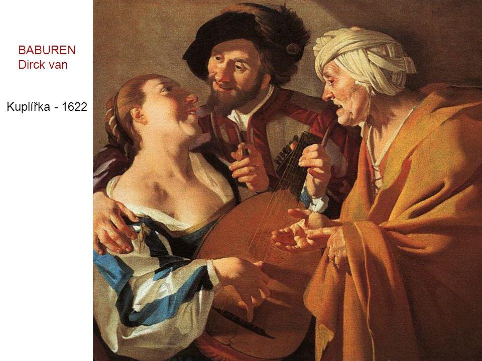 BABUREN Dirck van Kuplířka - 1622