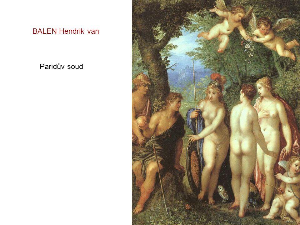BALEN Hendrik van Paridův soud