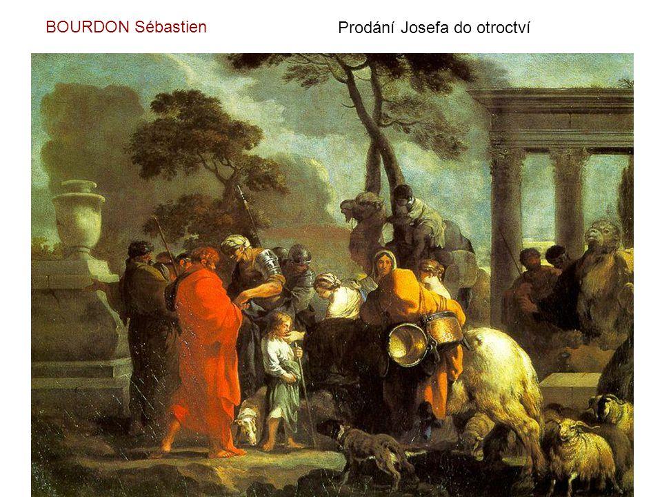 BOURDON Sébastien Prodání Josefa do otroctví
