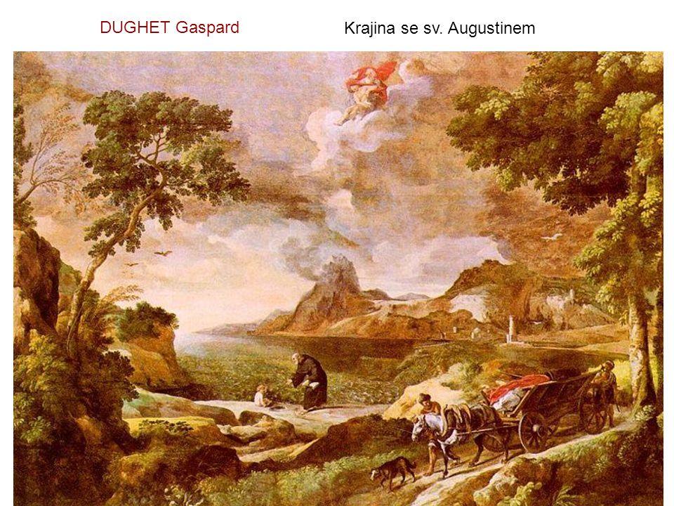 DUGHET Gaspard Krajina se sv. Augustinem