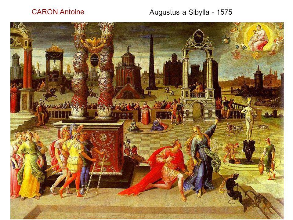 CARON Antoine Augustus a Sibylla - 1575
