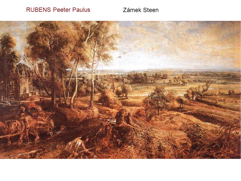 RUBENS Peeter Paulus Zámek Steen