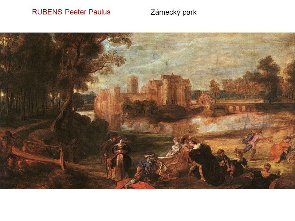 RUBENS Peeter Paulus Zámecký park
