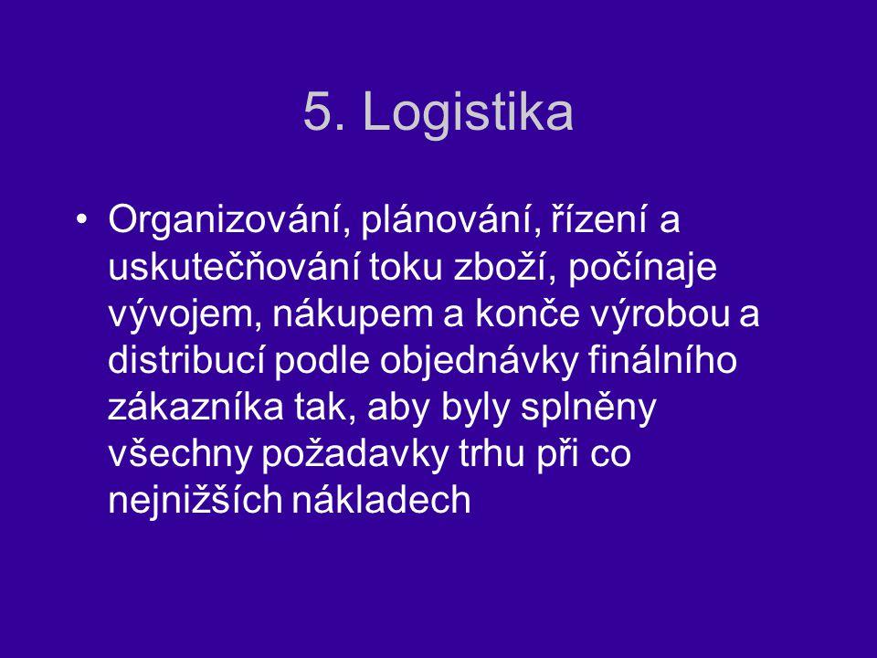 5. Logistika