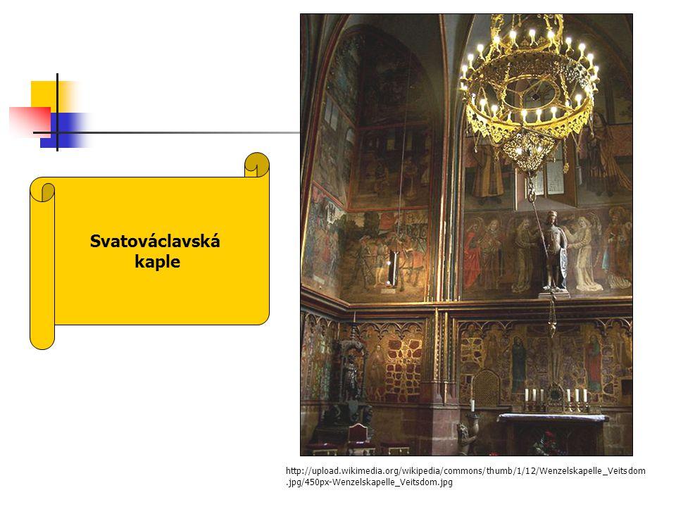 Svatováclavská kaple.