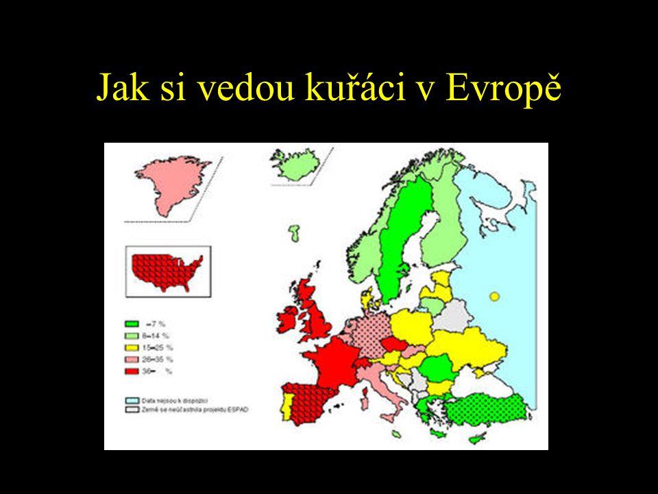 Jak si vedou kuřáci v Evropě
