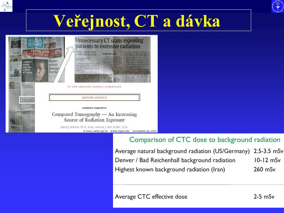 Veřejnost, CT a dávka 23