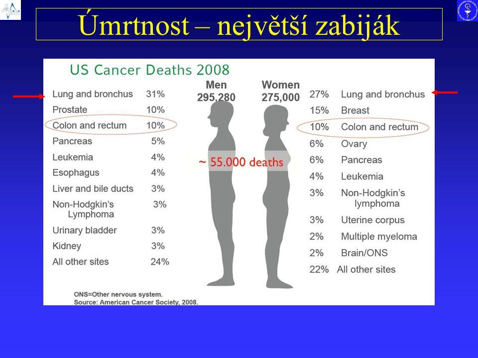 Úmrtnost – největší zabiják