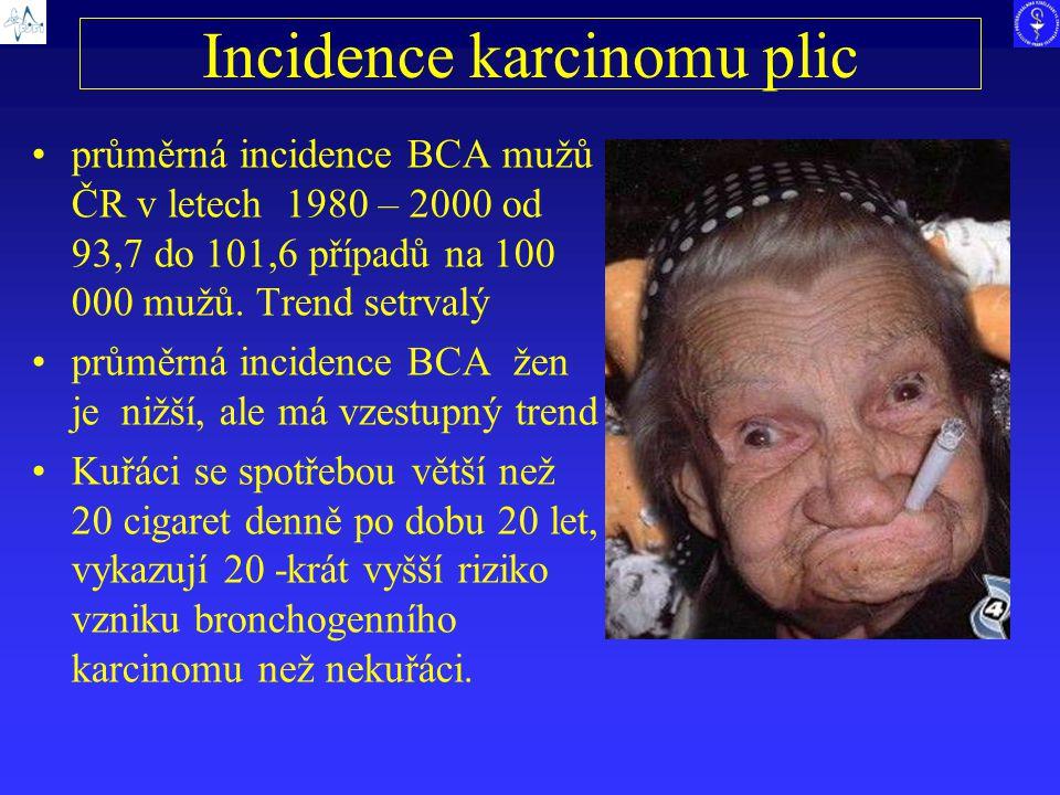 Incidence karcinomu plic