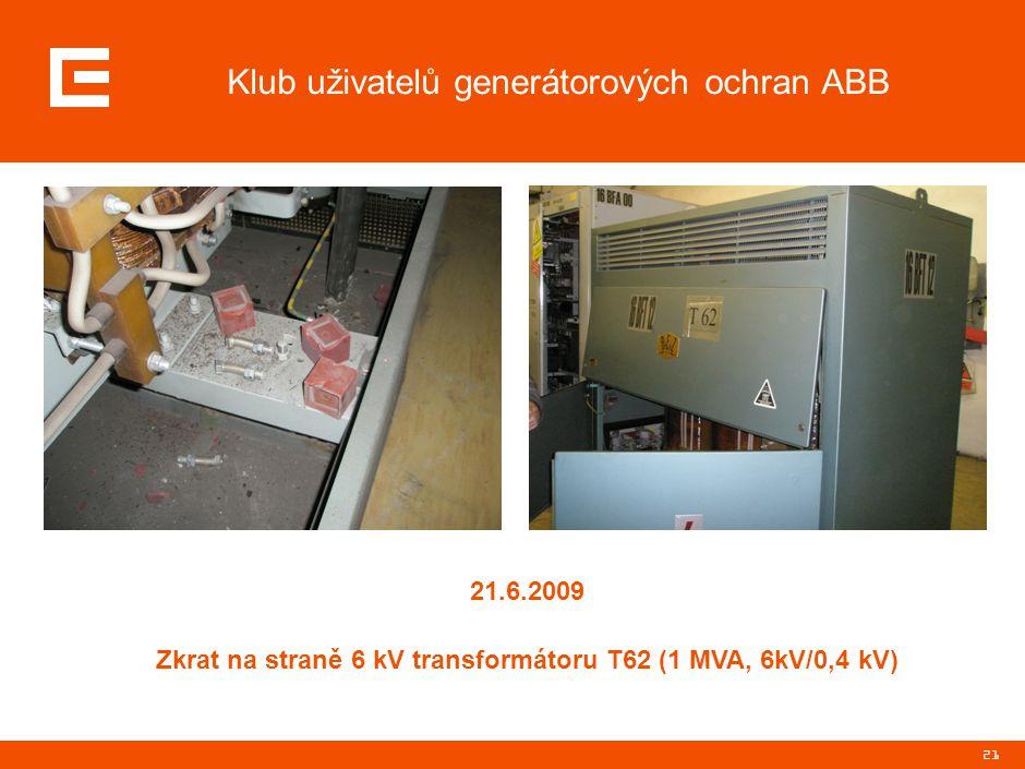 Klub uživatelů generátorových ochran ABB