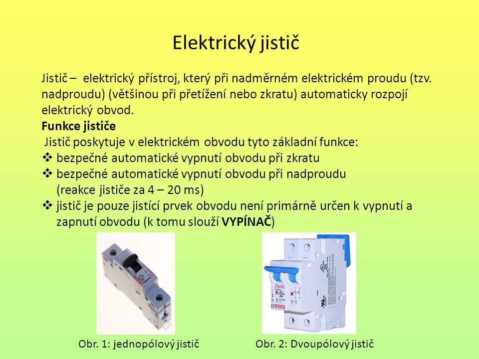 Elektrický jistič