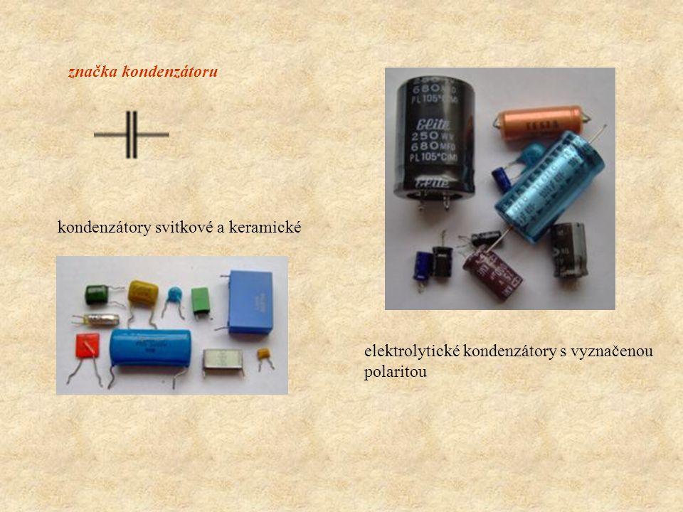 značka kondenzátoru kondenzátory svitkové a keramické.