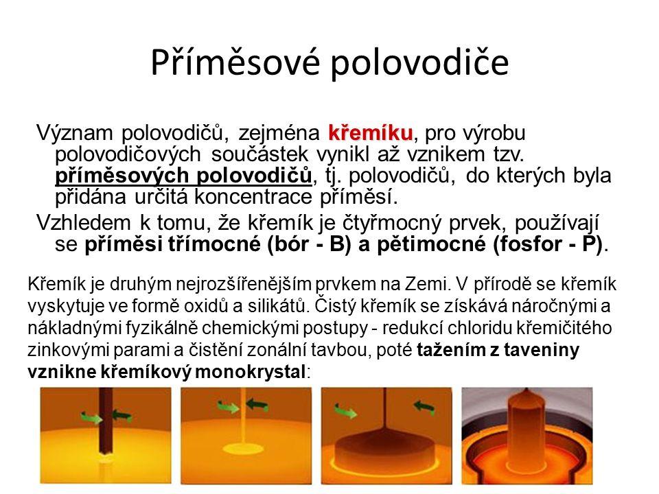 Příměsové polovodiče