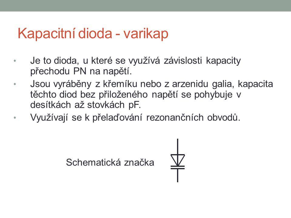Kapacitní dioda - varikap