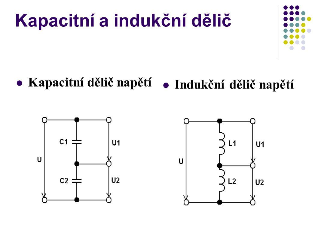 Kapacitní a indukční dělič