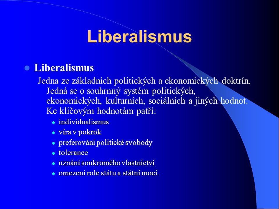Liberalismus Liberalismus